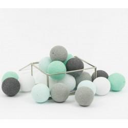 Cotton Balls Lawendowe 20 kul