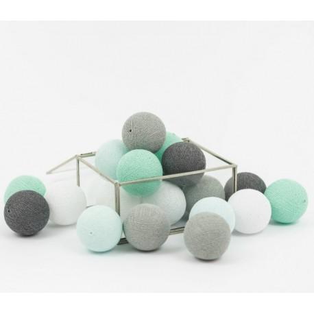 Cotton Balls Lawendowe 35 kul