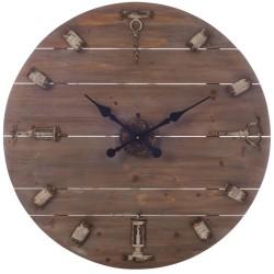 Duży Zegar Korki i Korkociągi