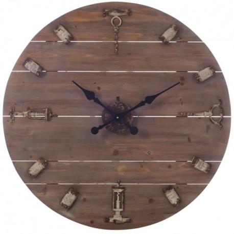Duży Zegar Ażurowy