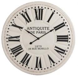 Duży Zegar Metalowy Paris