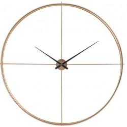 Złoty Zegar Minimalistyczny Duży