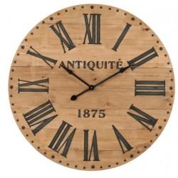 Duży Drewniany Zegar 1875
