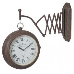 Zegar Dworcowy Szary