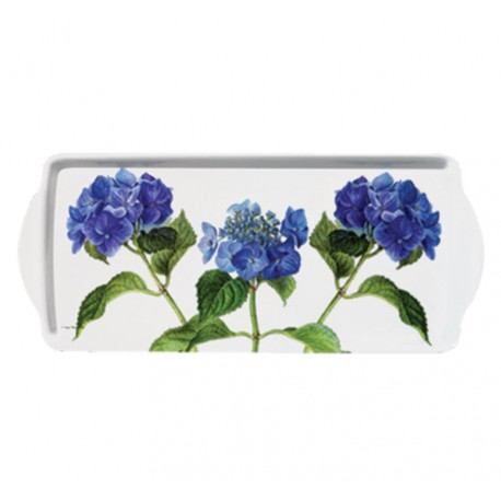 Taca Prowansalska Podłużna Niebieskie Kwiaty
