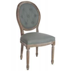 Krzesło Medalion Tapicerowane Prowansalskie A