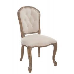 Krzesło Prowansalskie Tapicerowane C