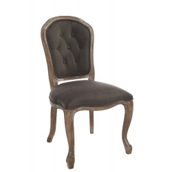 Krzesło Prowansalskie Tapicerowane D