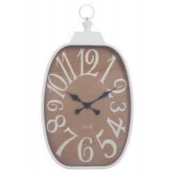 Duży Zegar Prowansalski Biały