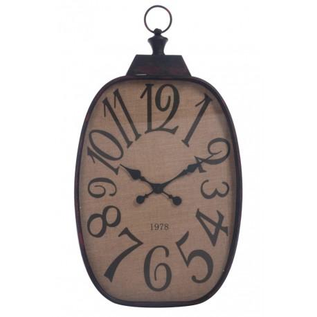 Duży Zegar Prowansalski Czarny