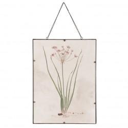 Obraz Retro z Rośliną C