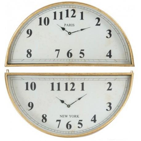 Duży Zegar Miedziany B