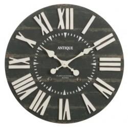 Czarny Zegar w Stylu Francuskim B