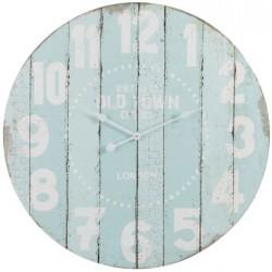 Błękitny Zegar Ścienny
