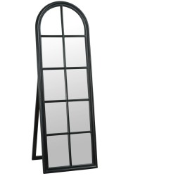 Lustro Okno Białe Owalne