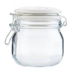 Szklany Pojemnik Kuchenny Retro E