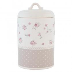 Ceramiczny Pojemnik Do Kuchni w Kwiatki B