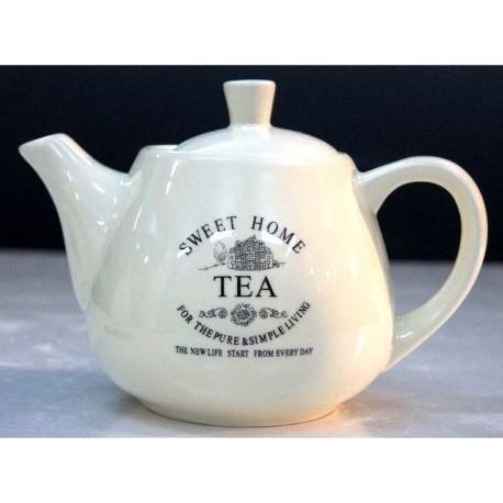 Okrągły Dzbanek TEA SWEET HOME
