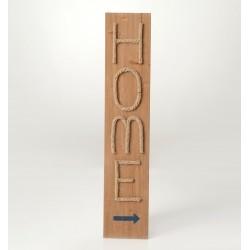 Drewniany Obraz Home