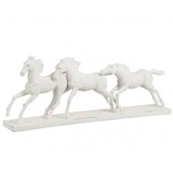 Figurka Konia Biała C