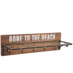 Wieszak Marynistyczny Beach z Półką