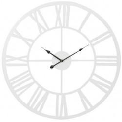 Metalowy Zegar Ażurowy Biały B