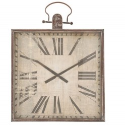 Kwadratowy Zegar Vintage