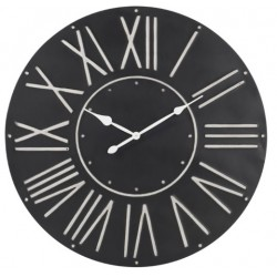 Duży Zegar Czarny A