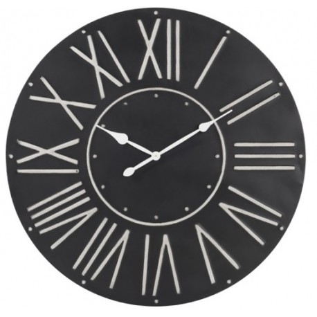 Duży Zegar Czarny B