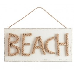 Tablica Beach House Dwustronna Duża
