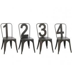 Metalowe Krzesło Prowansalskie Piza