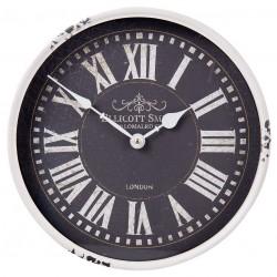 Zegar Retro Czarno-Biały
