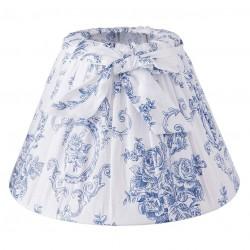 Abażur Prowansalski w Niebieskie Kwiaty A