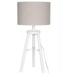 Lampa Stołowa Prowansalska Biała C