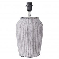 Lampa Stołowa Ceramiczna Szara B