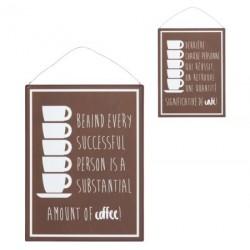 Metalowa Tabliczka Retro Kawa A