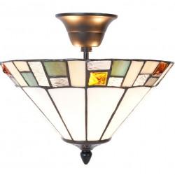 Lampa Tiffany Sufitowa A