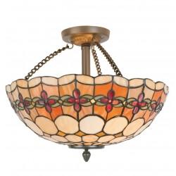 Lampa Tiffany Sufitowa D