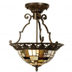 Lampa Tiffany Sufitowa G