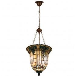 Lampa Tiffany Sufitowa H