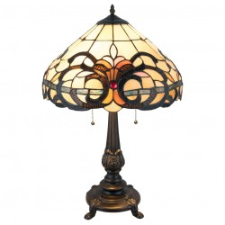 Lampa Tiffany Stołowa Duża 1