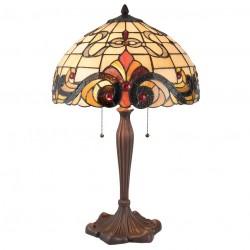 Lampa Tiffany Stołowa Duża 4
