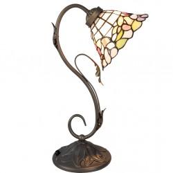 Lampa Tiffany Stołowa Duża Liście