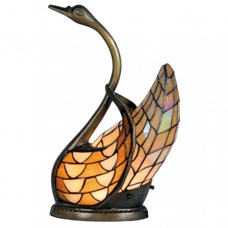 Lampa Tiffany Stołowa Łabędź A