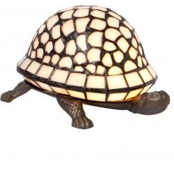 Lampa Tiffany Stołowa Żółw
