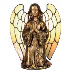 Lampa Tiffany Stołowa Anioł