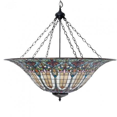 Lampa Tiffany Stołowa Latarnia Morska