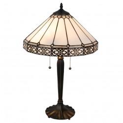 Lampa Witrażowa Stołowa Pasy A