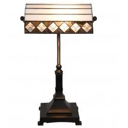 Lampa Witrażowa Stołowa Pasy B