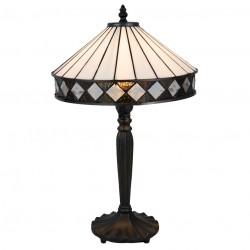 Lampa Witrażowa Stołowa Pasy C